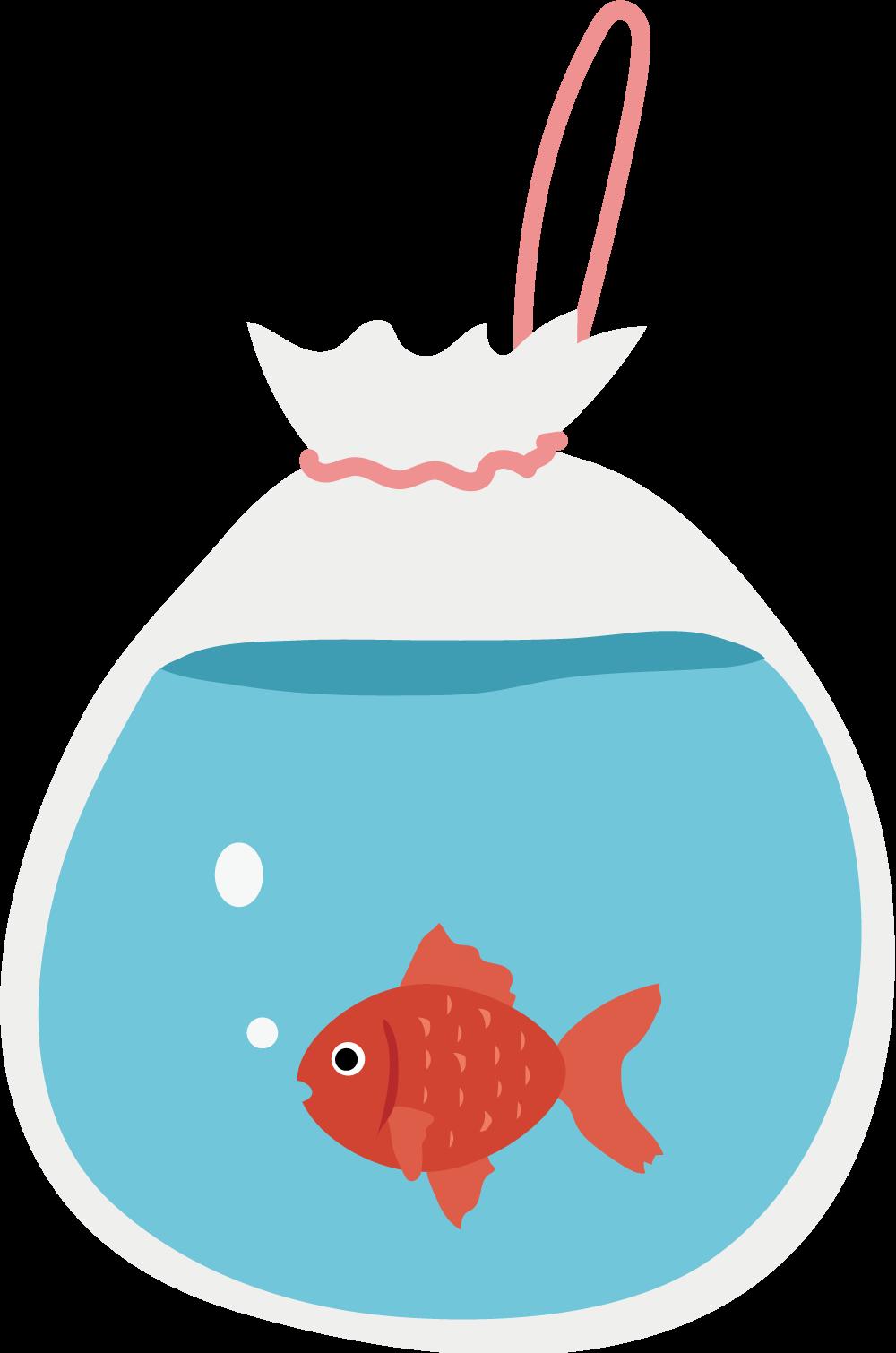 金魚すくいのイラスト Sozaic Com