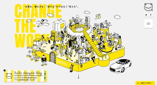 Change the Work|RaNa design associates inc (株式会社ラナデザインアソシエイツ)