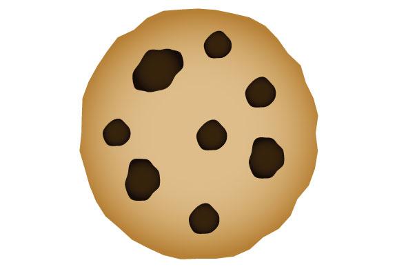 チョコチップクッキーのイラスト Sozaic Com