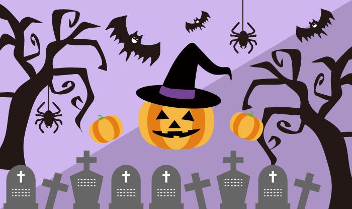 10月といえばハロウィン カボチャや墓などハロウィンイラスト素材まとめ Sozaic Com